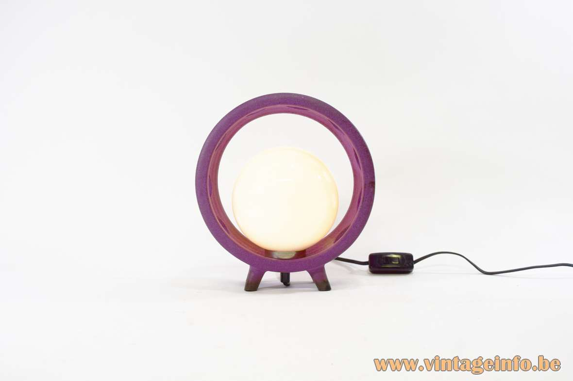 Ceramic Globe Table Lamp