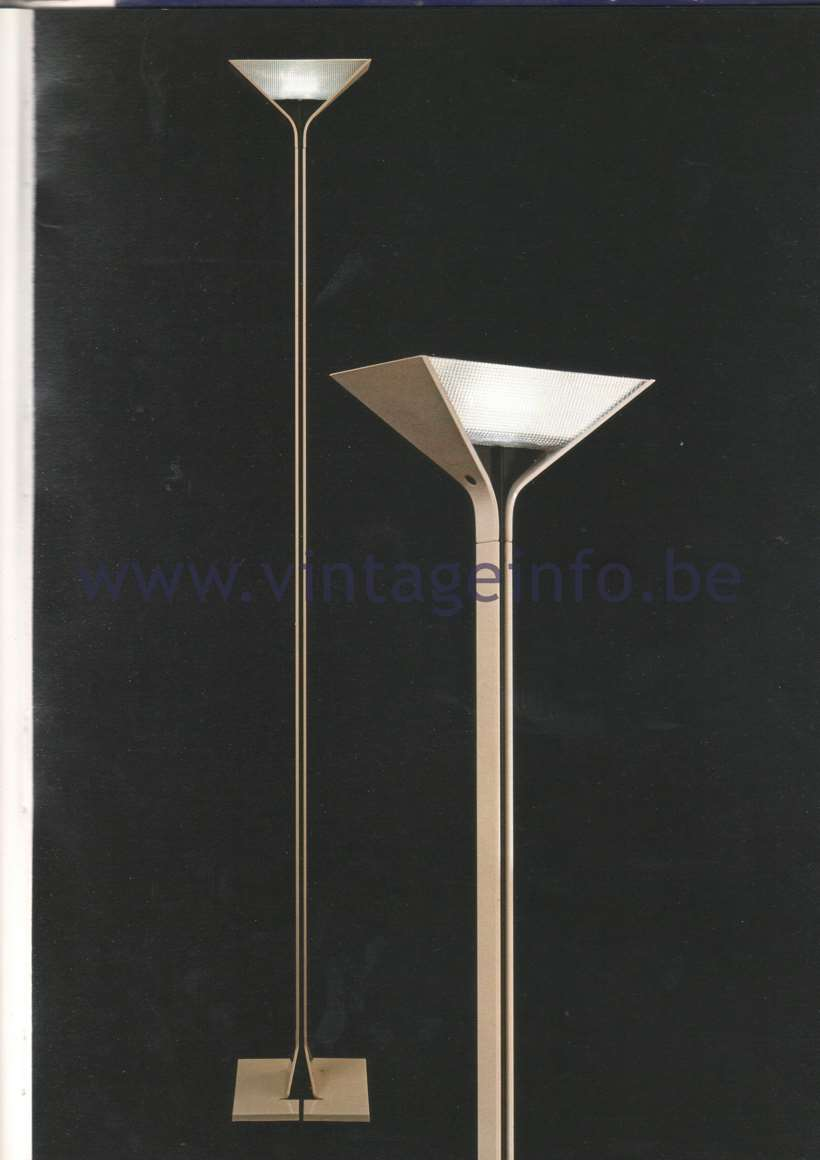 FLOS Papillona floor lamp - Design: Tobia Scarpa in 1975. Catalogue Picture