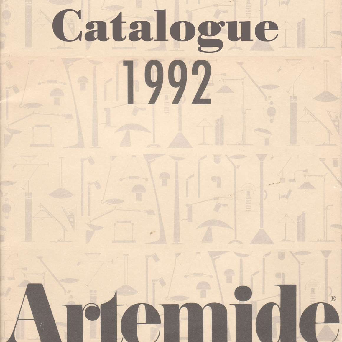 Vintage Lighting Catalogues - Artemide Catalogue 1992