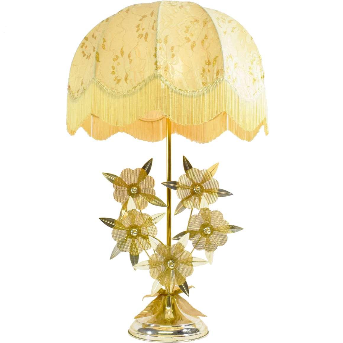 Flower Kitsch Table Lamp