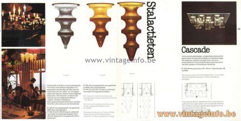 Raak Amsterdam Stalactieten designer: Nanny Still glass produced by Val Saint Lambert 1950s 1960s