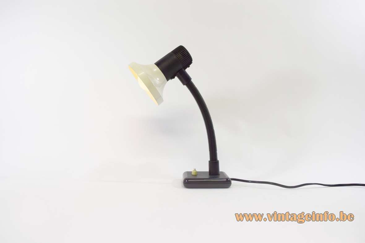 Black & White Desk Lamp
