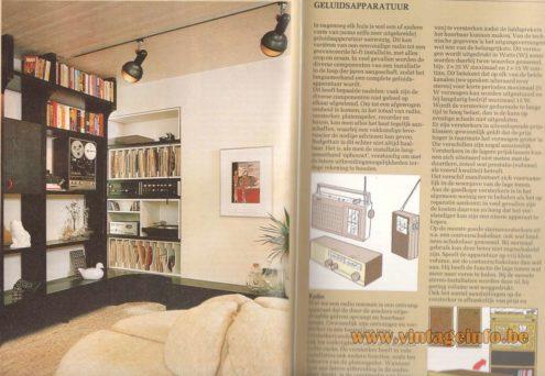 "Roger Tallon Erco Spots ""Micro"" - Elseviers Praktische Huis Encyclopedie 1982"