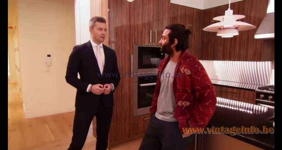Poul Henningsen PH 5 Pendant Lamp used as a prop in Million Dollar Listing New York (2016) Lamps in the movies
