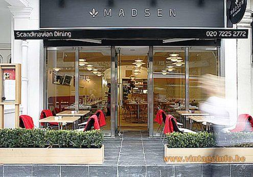 Louis Poulsen PH5 Pendant Lamps - Restaurant Madsen London