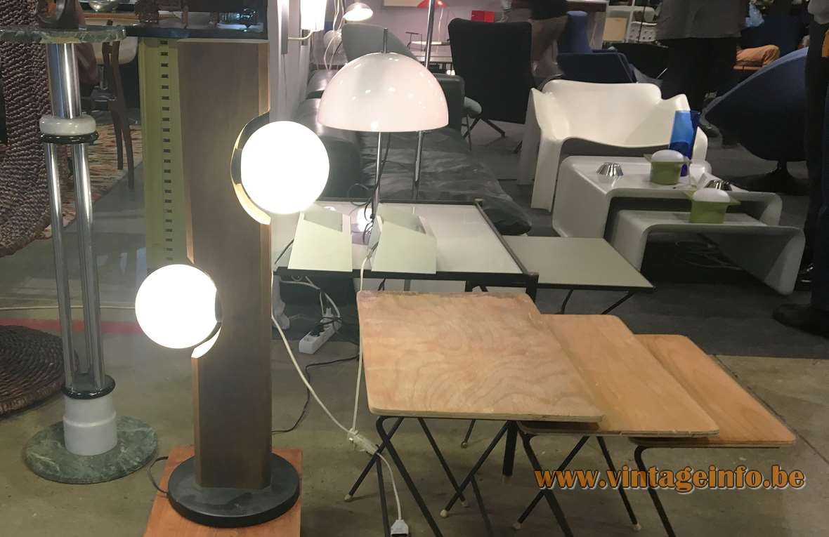 Temde-Leuchten Floor Lamp spotted on the Les Puces du Design fair in Paris, April 2018.