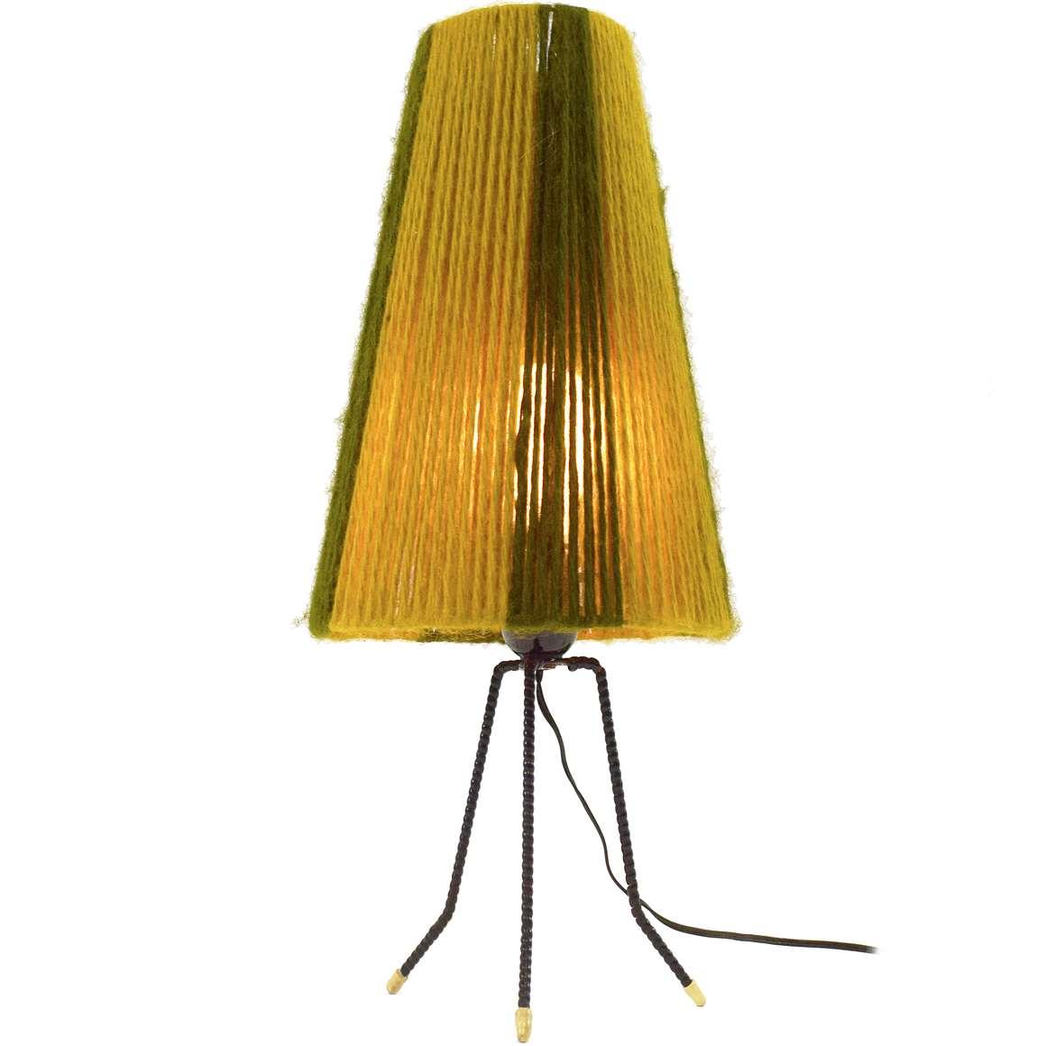 Tripod Wool Table Lamp