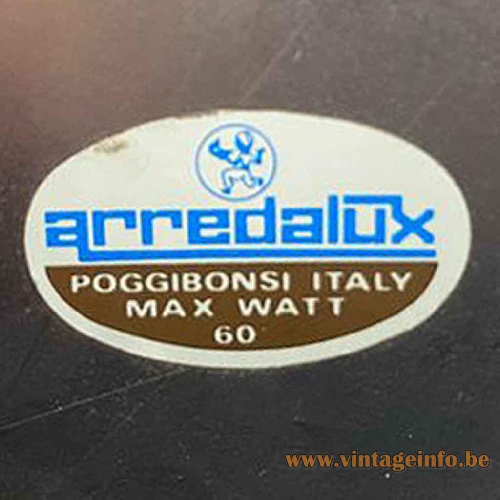 Arredalux Italy Label Logo