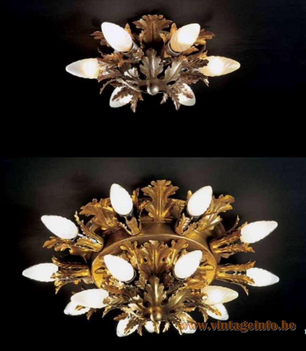 Banci Firenze flower ceiling lamp flush mount catalogue picture