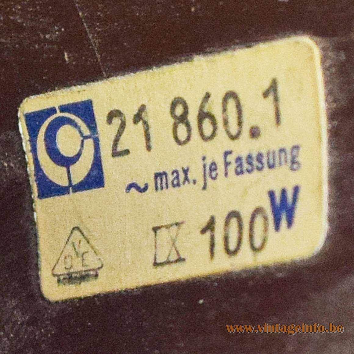 Leclaire & Schäfer Pendant Lamp - Label