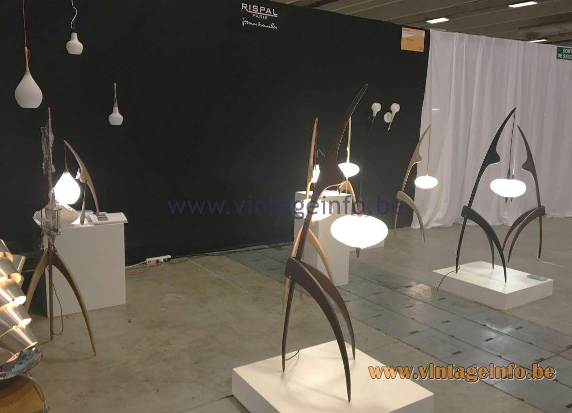Rispal pendant lamp vintage info all about vintage lighting for Puces du design paris