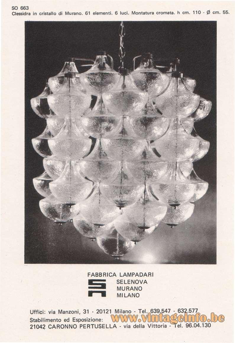 Milano Salono Del Mobile - 22-29 September 1968 - Selenova advertisement