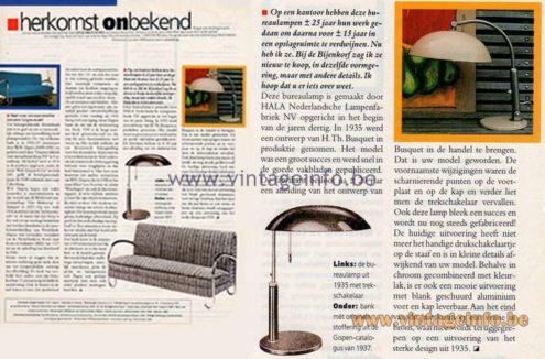 Herkomst Onbekend - (Origin Unknown) - Column in Dutch magazine Eigen Huis & Interieur early 2000s