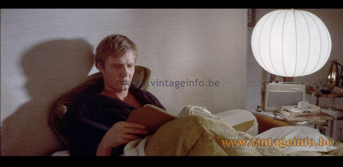 Raak Chrysaline Pendant Lamp - The Odessa File (1974)