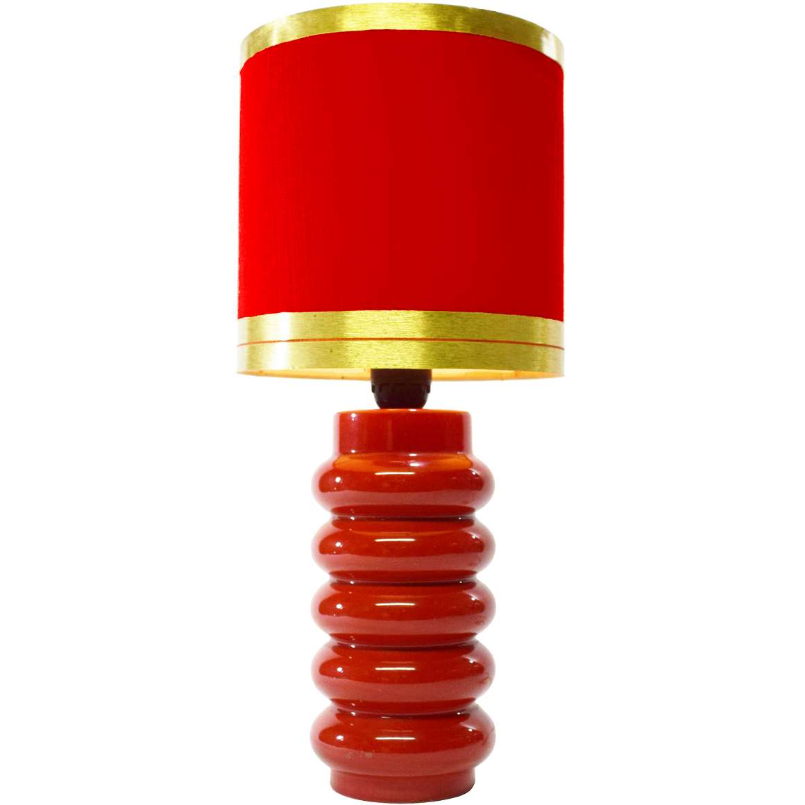 1970s Red Table Lamp Vintage Info All About Vintage