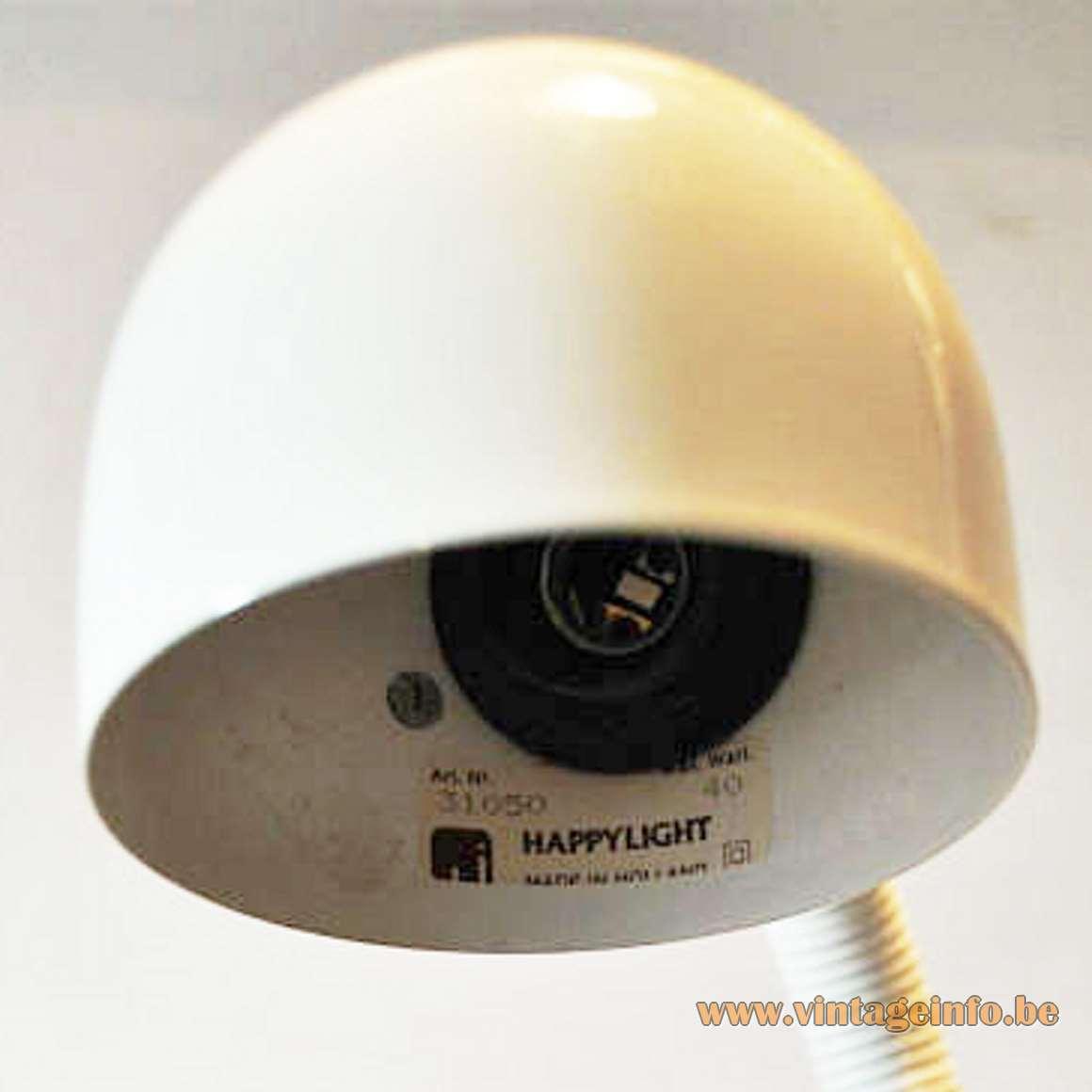 1980s Happylight Snake Lamp, model 31050