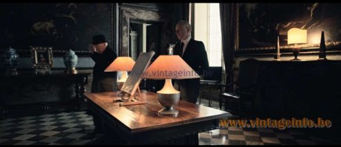 Vit Kellj Table Lamps used as a prop in All The Money In The World (2017) lamps in the movies