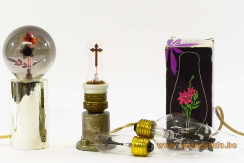 Crucifix Table Lamp - Artful gas-discharge light bulbs