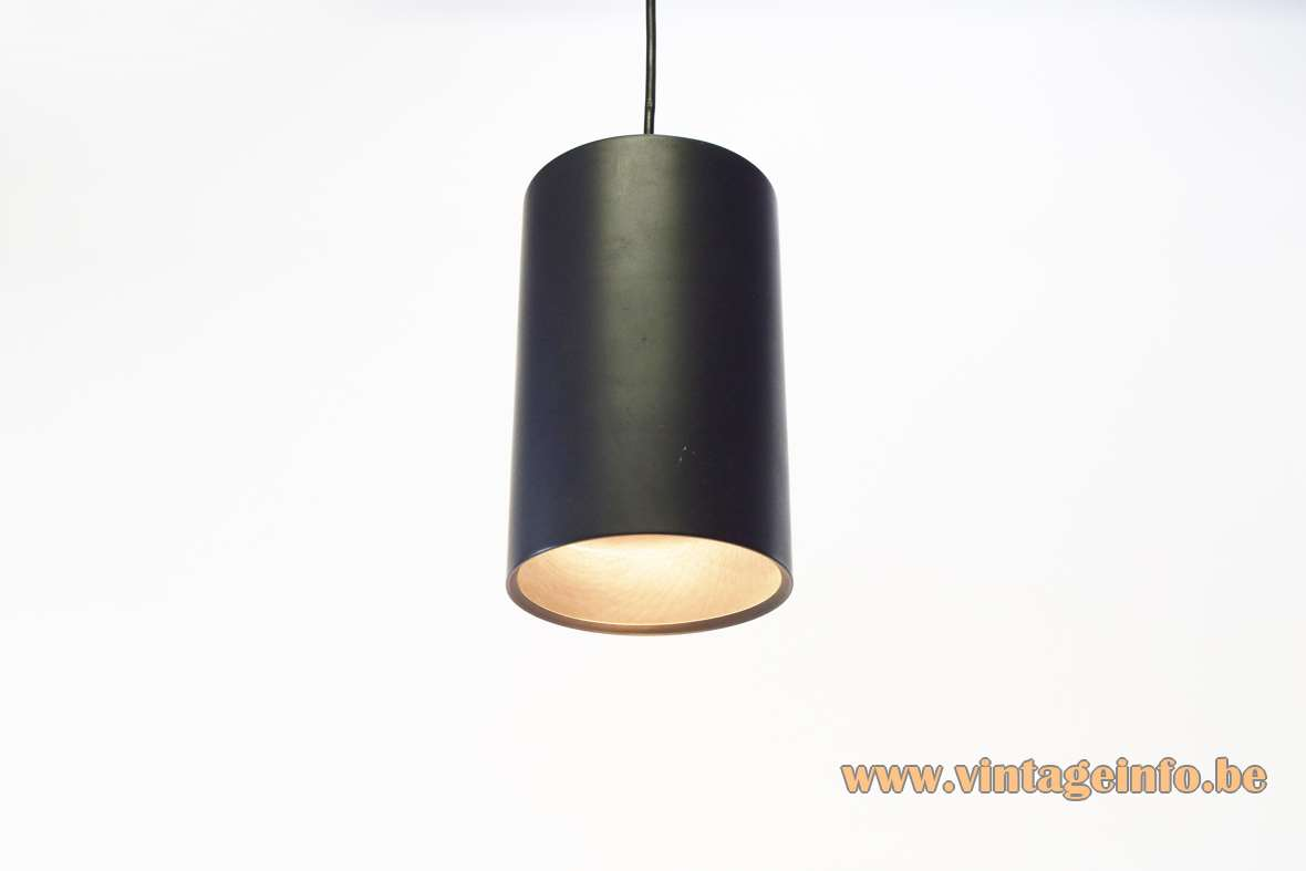 Philips 1960s Cylindrical Pendant Lamp