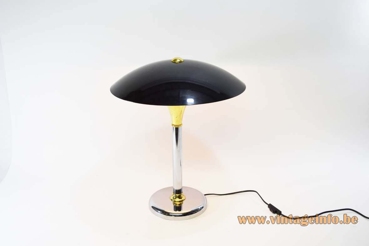 1980s Bauhaus Table Lamp