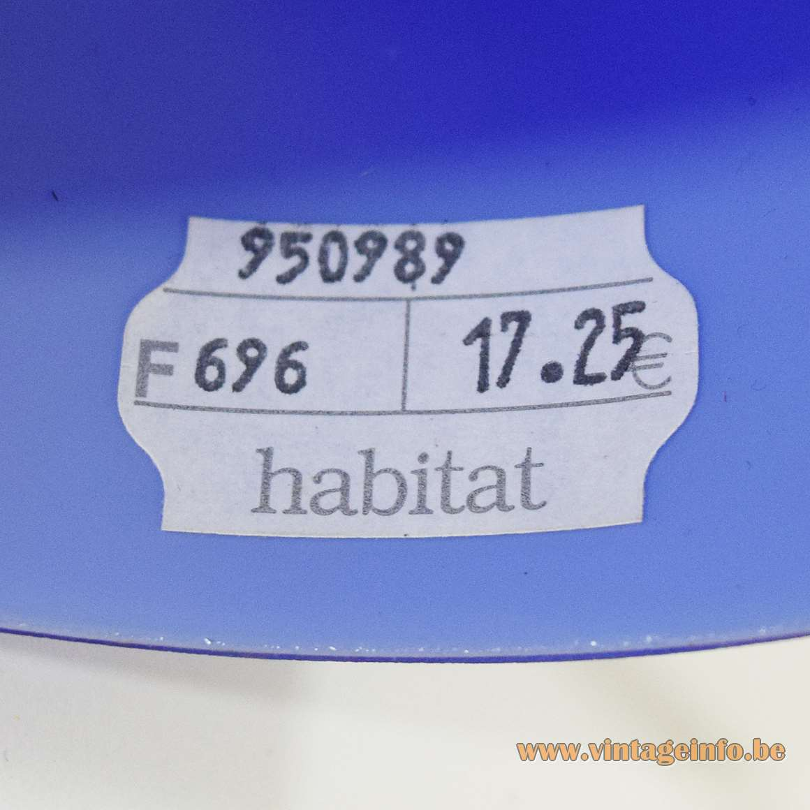 Habitat Capsule Table Lamp - Habitat Label