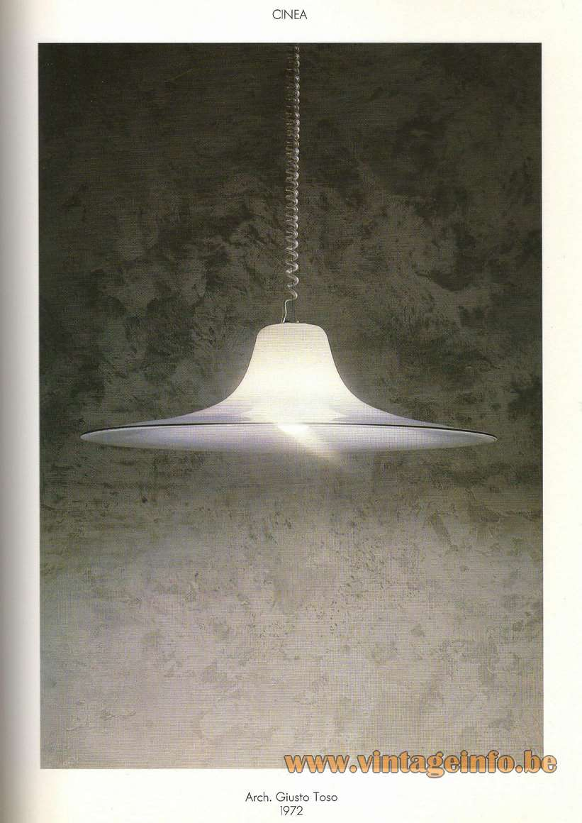 Leucos Cinea Pendant Lamp - Catalogue Picture