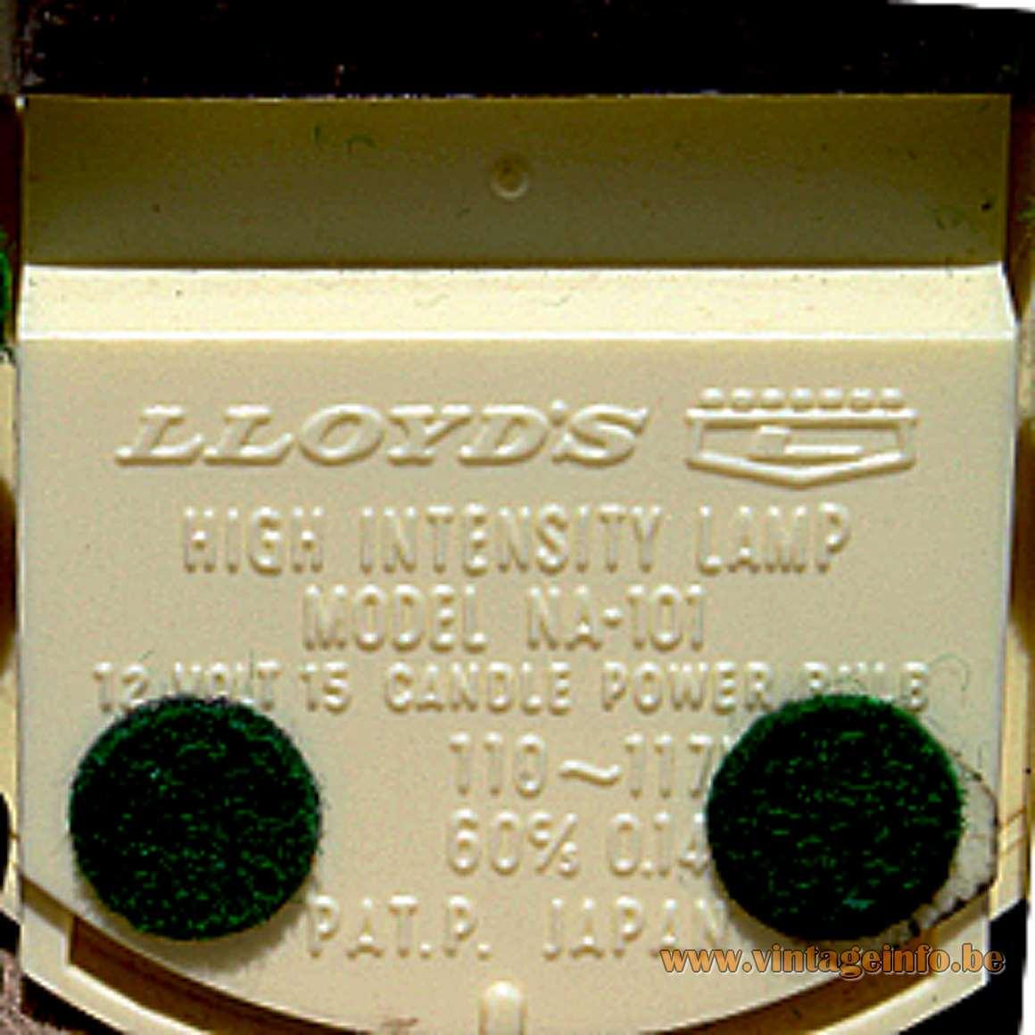Lloyd's NA-101 Folding Lamp