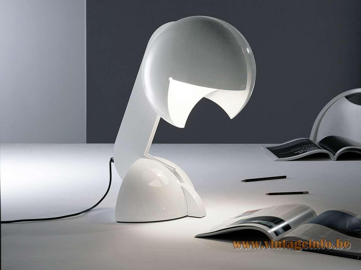 Martinelli Luce Ruspa Table Lamp - 1968