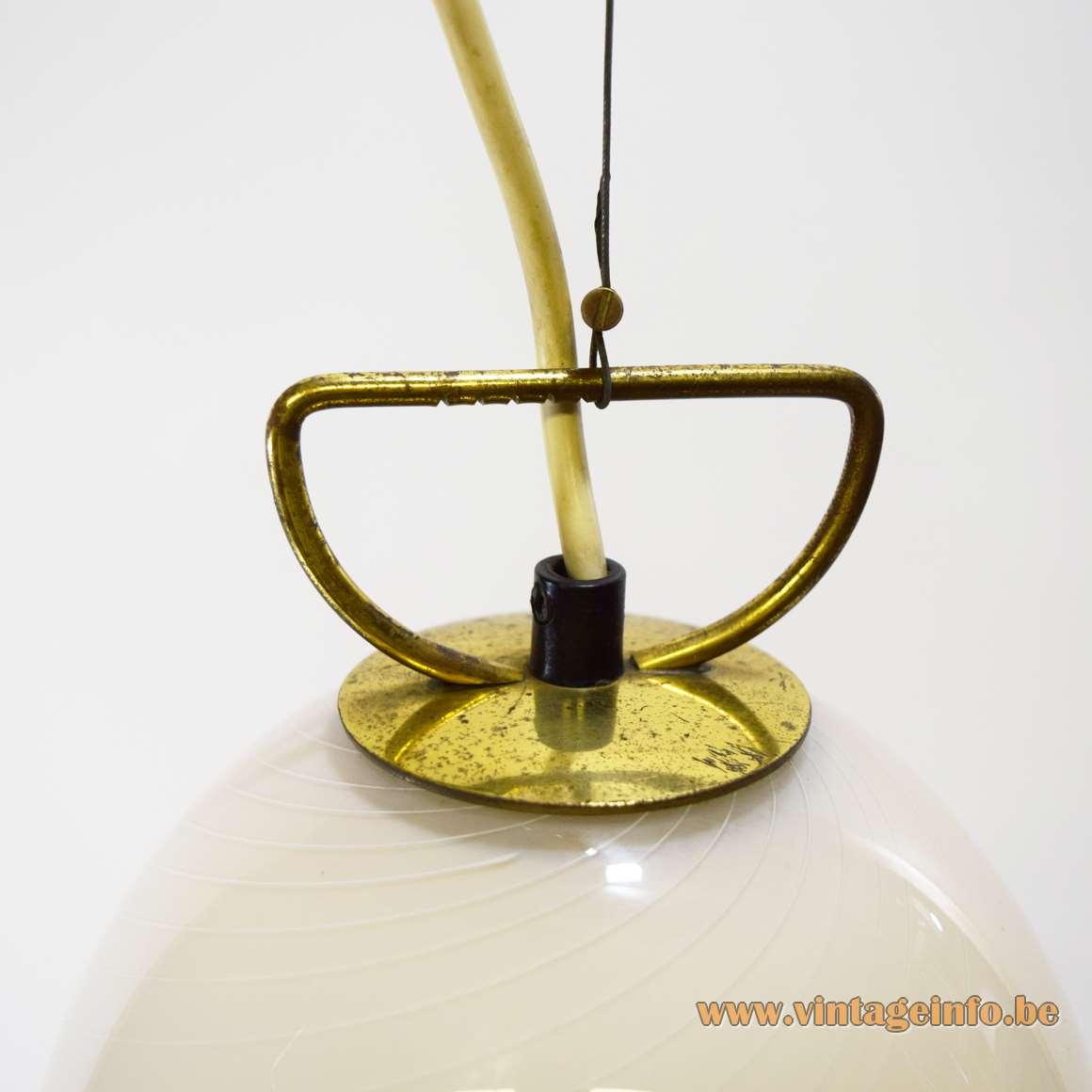 Murano Petticoat Pendant Lamp - Parts