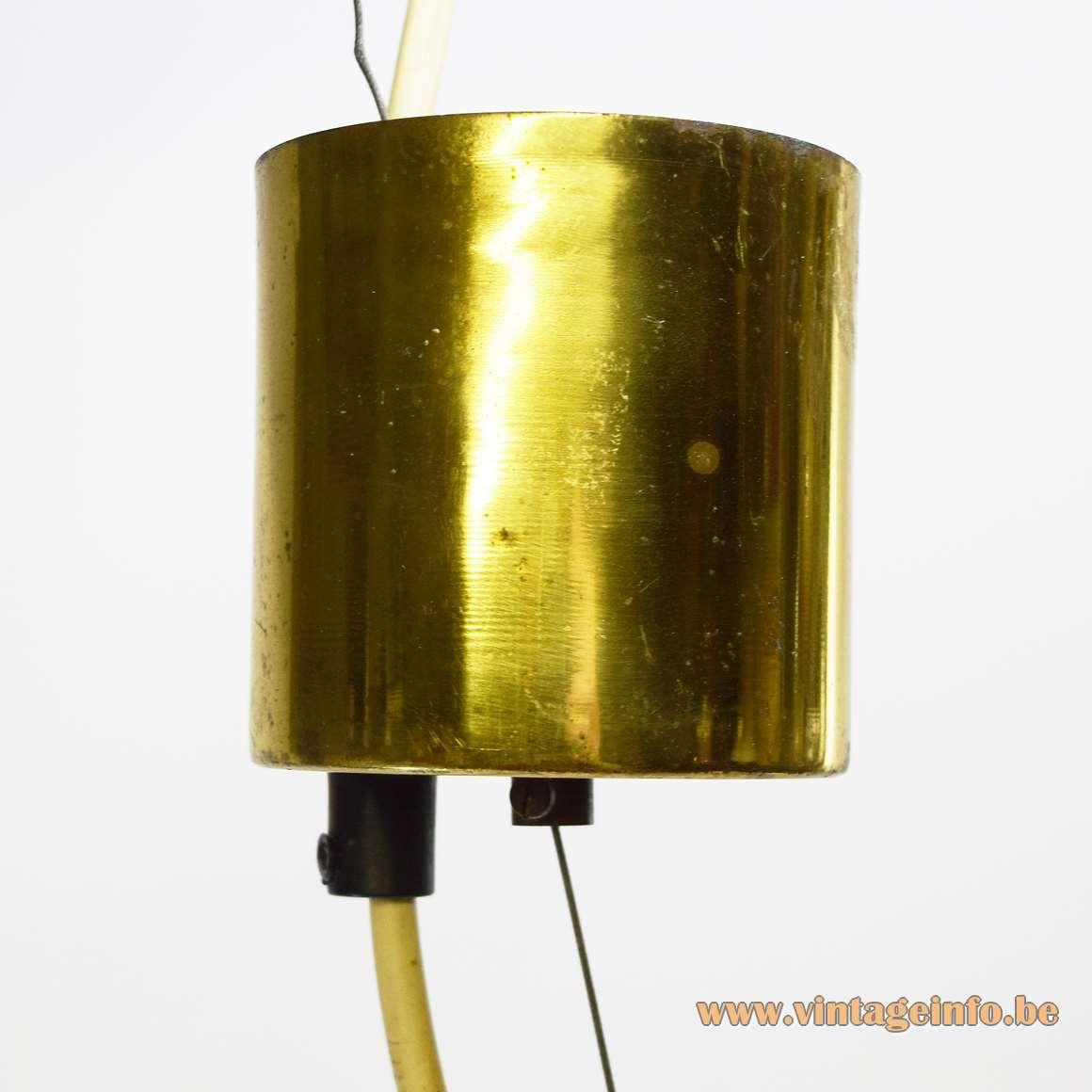 Murano Petticoat Pendant Lamp - Parts - Brass Canopy
