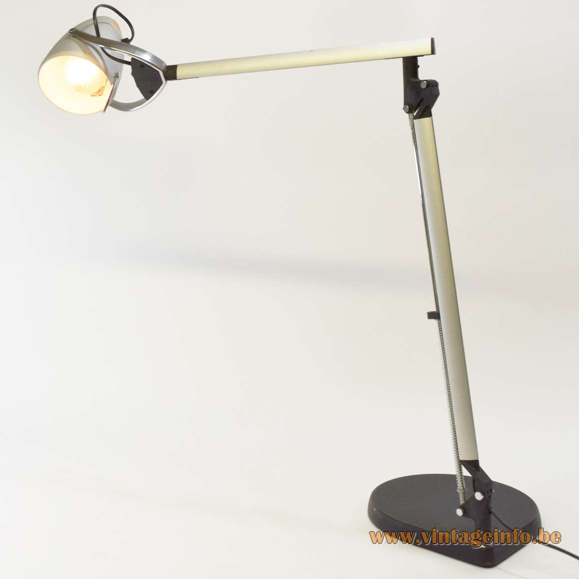 Quattrifolio Boris desk or work lamp 1992 design by Makio Hasuike and Hisham Kulhanek Italy