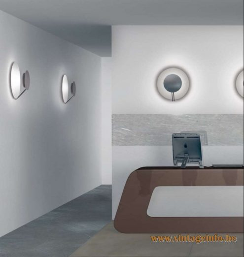 Tre Ci Luce Vega Wall Lamp - 1985 Design: Luciano Cesaro & Fabio Amico - Catalogue Picture