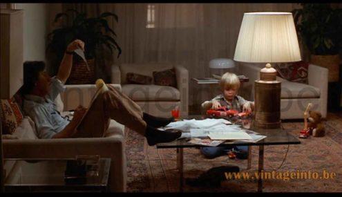Artemide Nesso table lamp used as a prop in the 1979 film Kramer vs Kramer