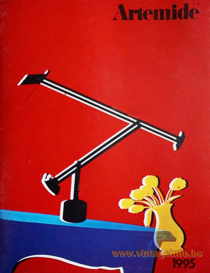 Artemide Tizio 50 Desk Lamp - 1995 publicity design: Richard Sapper 1971