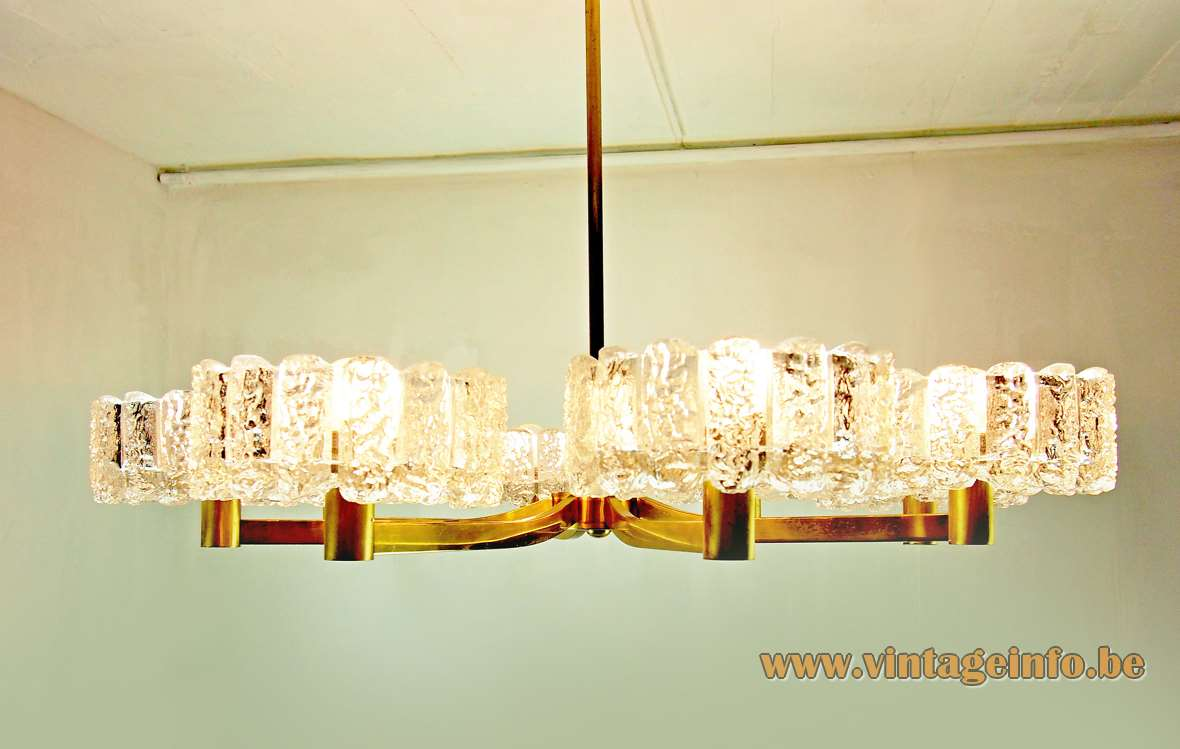 Doria Ice Glass Chandelier