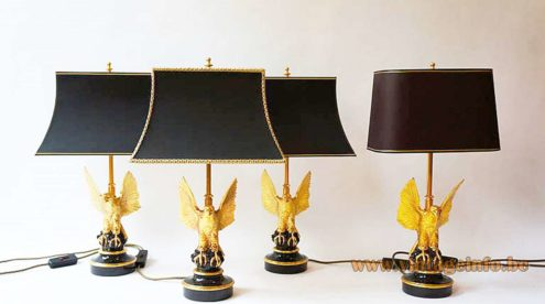 Eagle Table Lamps - Deknudt Lighting