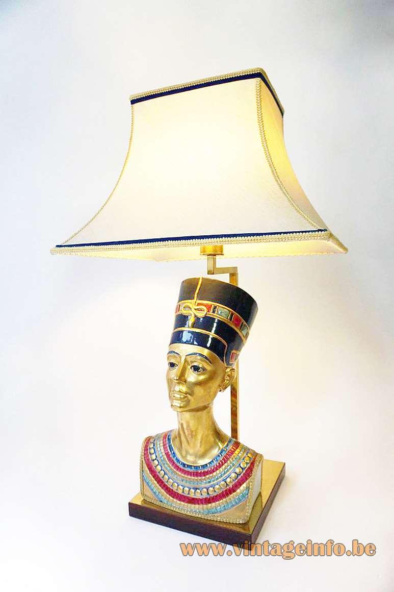 Edoardo Tasca Nefertiti Table Lamp