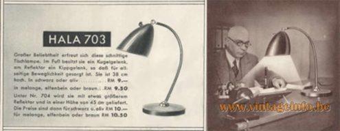 Hala Hanover Desk Lamp 703 folder