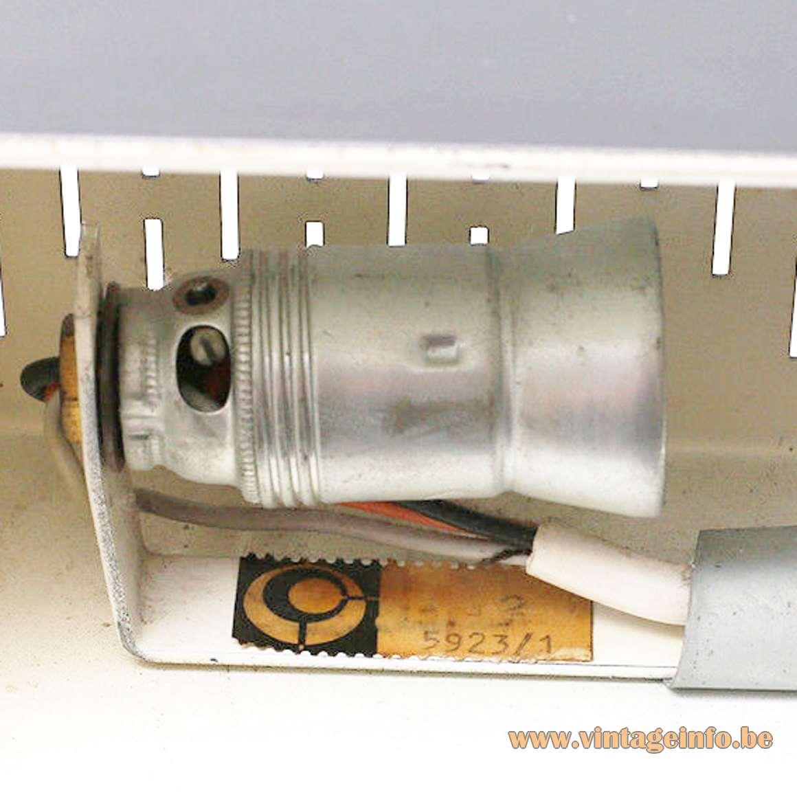 Leclaire & Schäfer Desk Lamp - label 5923/1