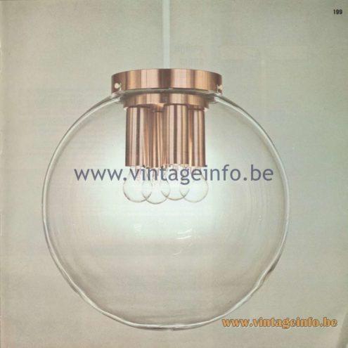 Raak Amsterdam Light Catalogue 8 - 1968
