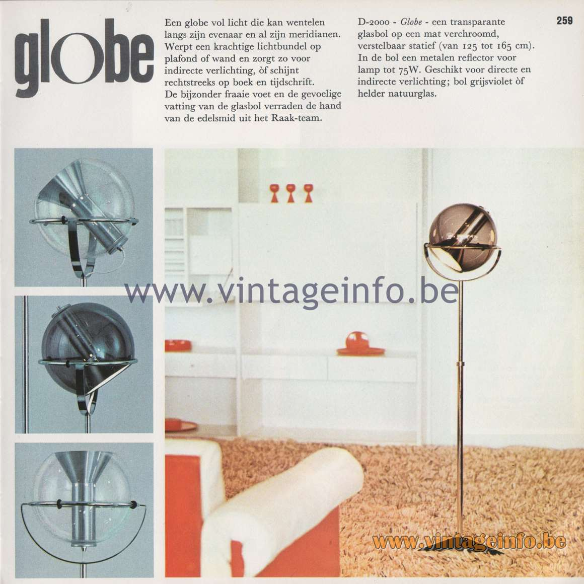 Raak Catalogue 8, 1968 – Page 30 –Vintage Info – All About Vintage ...