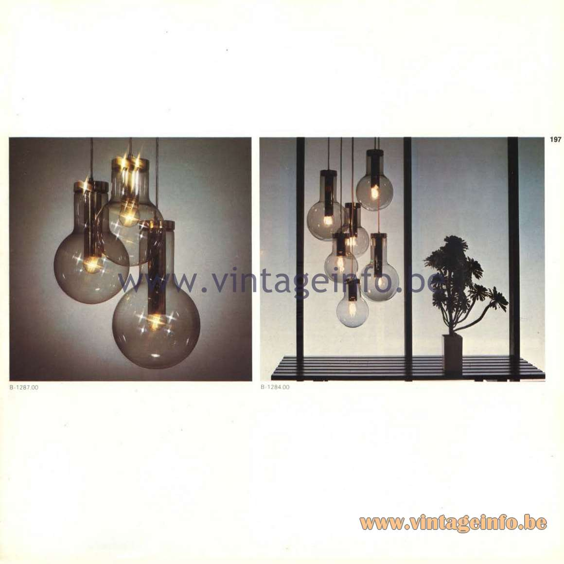Raak Catalogue 9, 1972 - Maxi-Lamp