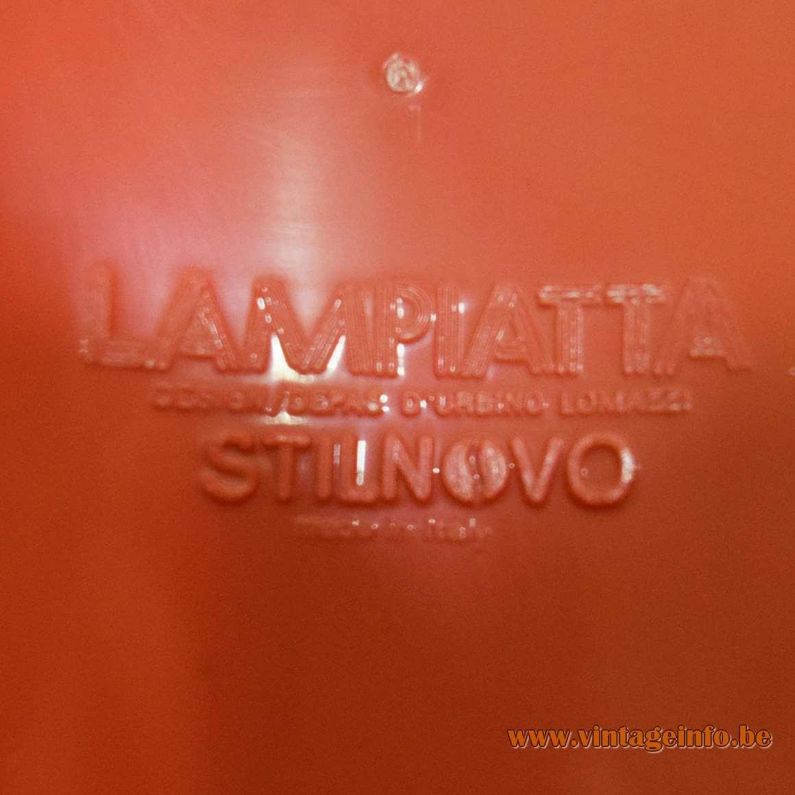 Stilnovo Lampiatta Table Lamp - Molded label on the inside