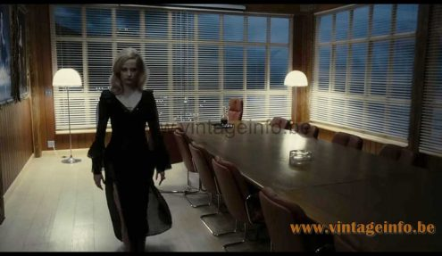 iGuzzini Baobab floor lamp used as a prop in the 2012 film Dark Shadows