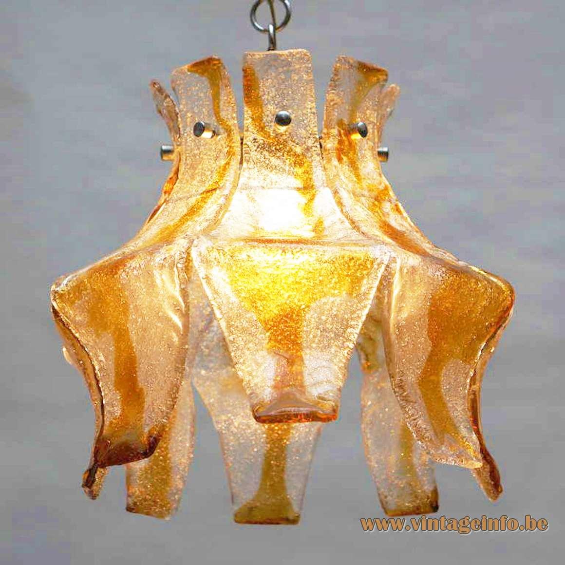 AV Mazzega Pendant Lamp