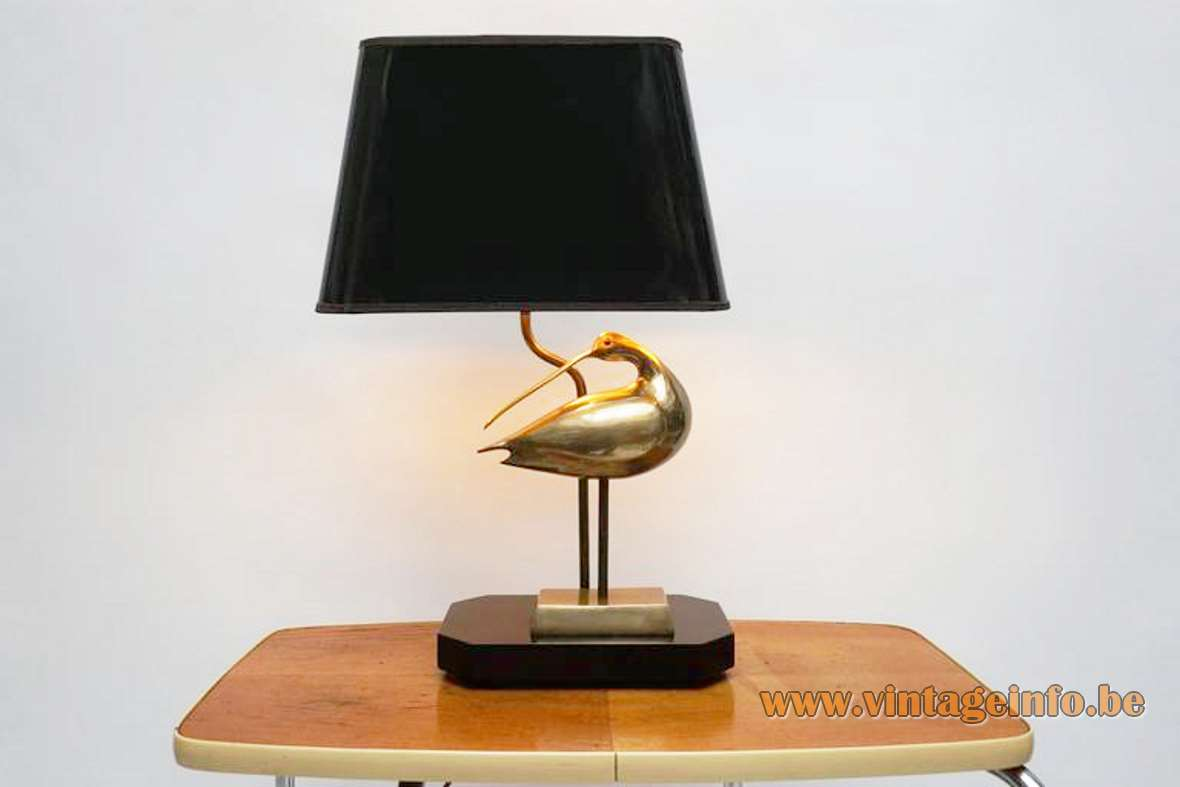 Brass Curlew Table Lamp