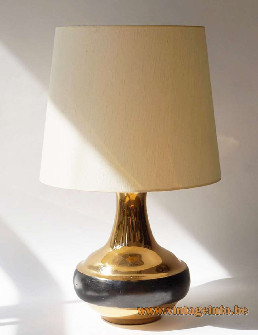 Bruno Gambone Brass Table Lamp