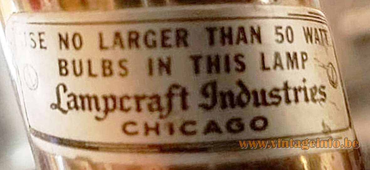 Lampcraft Industries Floor Lamp Vintage Info All About