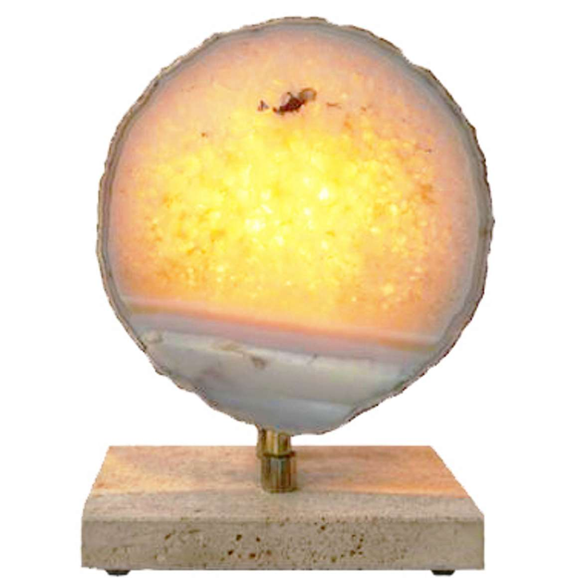 Pierre Faveere Agate Table Lamp