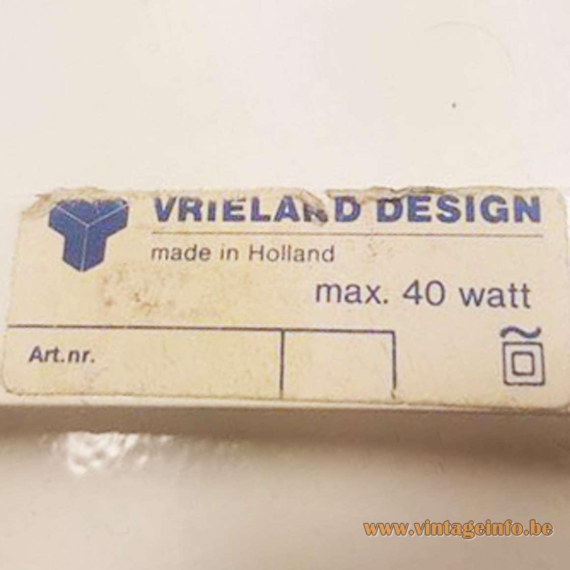 Vrieland Design Label